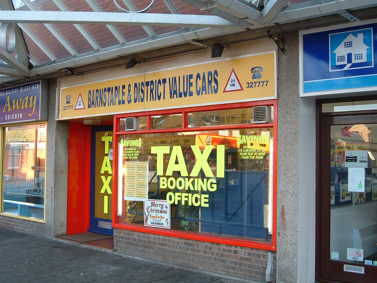 Barnstaple & District Value Taxis Office