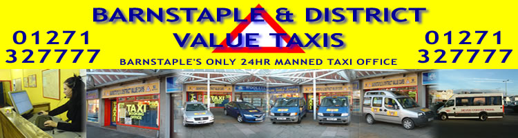 Barnstaple & District Value Taxis Logo